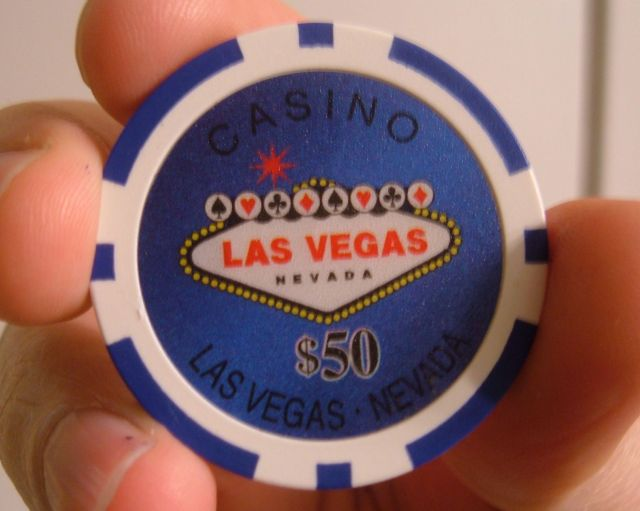 las vegas poker chips values